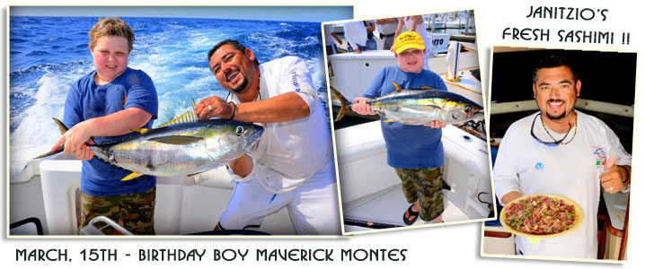 Cabo fishing report spring 2018 april to june forecast for Cabo fishing seasons